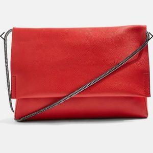 Topshop Red Purse / Clutch